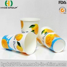 12oz Single Wall Cold Drink Paper Cup for Juice (12oz)