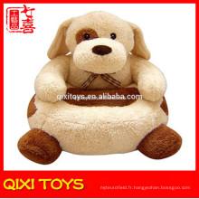 Canapé en peluche chien canapé en peluche pour les enfants