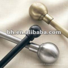 Acessórios de hardware de estilo europeu para a decoração real retor cortina haste, bola cortina rod finial