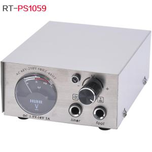 Tattoo LCD Display Adjustable Power Supply