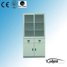 Steel Painted Hospital Medical Medicine Cabinet (U-7)