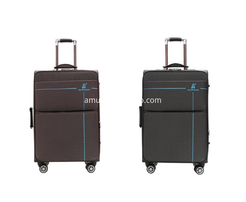 trolley outside travel luggage