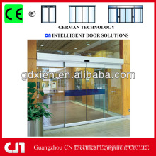 Porte de verre coulissante pour salle de bain professionnel
