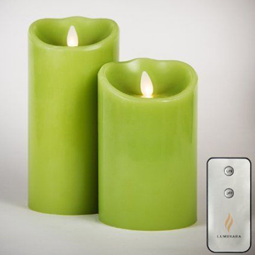 flameless luminara candle with remote control