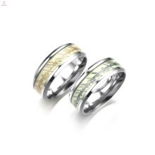 La bande magique de mode faite sur commande brillent dans les anneaux lumineux sombres