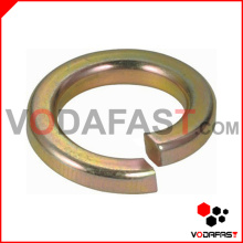 Spring Washer Lock Washer Yellow Zinc Plated