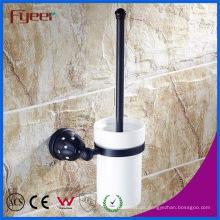 Fyeer Black Series Badzubehör Messing Toilettenbürstenhalter