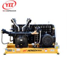 compressor de ar do impulsionador pelo ventilador