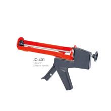 JC-401 Silicone Sealant Cylinder PNEU Gun Plastic Handle Caulking Gun