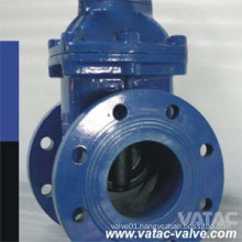 Handwheel Operated Cast Iron RF Flanged Soft Seat Gate Valve