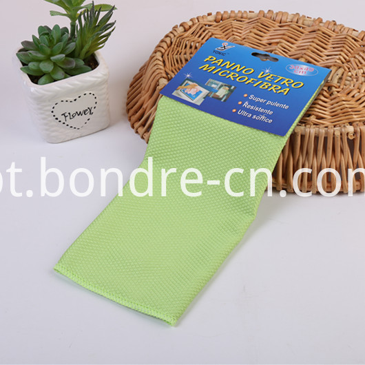 Light Colors Wash Towel With Scale Weaving (5)