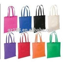 El bolso de compras no tejido respetuoso del medio ambiente modifica la materia prima para requisitos particulares