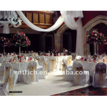 Standard banquet chair cover,CT109 polyester material,durable and easy washable