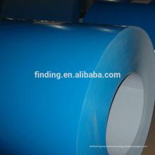 prepintada acero bobina de acero galvanizada prepintada color revestido acero bobina