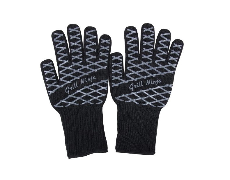 Black stripes Gloves
