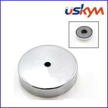 China Ferrite Magnet Pot (P-005)