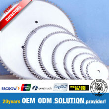 Coupeur de disque de fibre de meulage de matériel de Vrigin de 100%