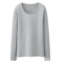 New Arrival Women T-Shirt Grey 100% Cotton