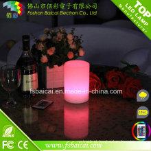 Cor da bateria recarregável mudando a lâmpada de mesa sem fio do diodo emissor de luz