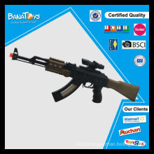 Hot sale promotion toy with light and music for kids cowboy toy guns