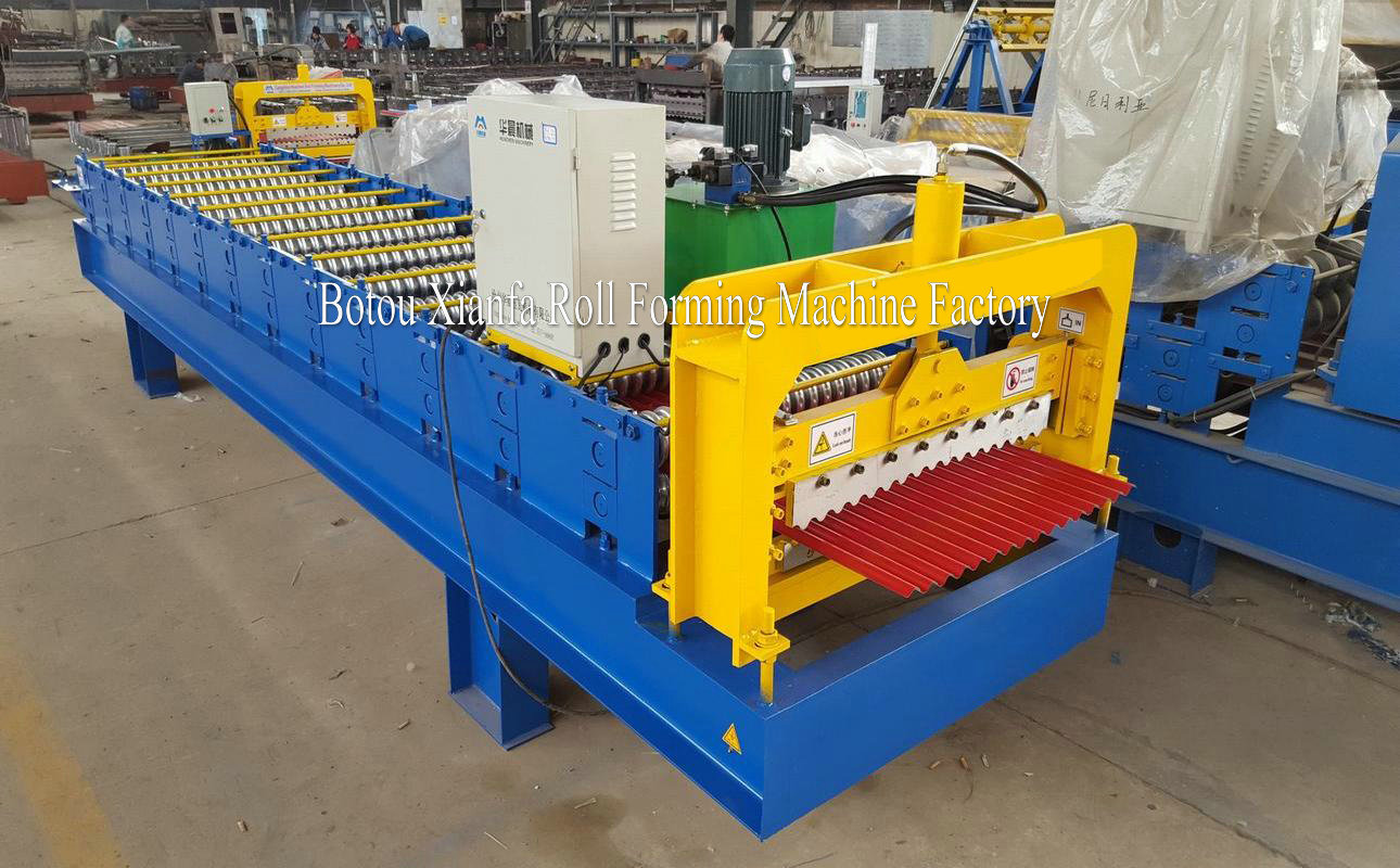 Colored Steel Roof S Equipment