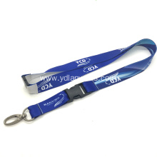 Custom Logo Polyester Sublimation Lanyard