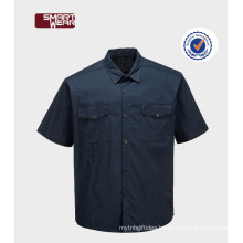 High quality TC 65/35 polyester cotton workwear uniform work shirts