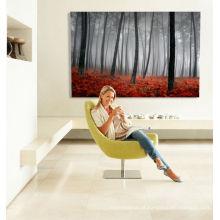 Impressão em tela da árvore Impressão em tela da parede da arte Impressão em tela da lona da floresta