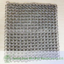 Limpiador de hierro fundido XL 7x7 Premium Stainless Steel Chainmail Scrubber