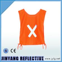 glow in dark hi vis reflective security vest for kids