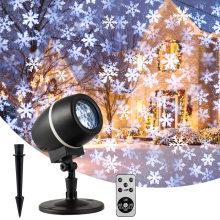 Christmas Projector Lights Outdoor  Weatherproof Christmas Laser Lights Landscape Spotlight Decorative Stage Lights
