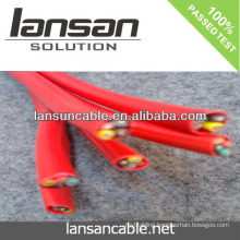 LANSAN High quality factory price Red unshield alarm cable