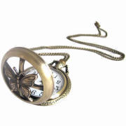 Antique Pocket Watch, Eco-friendly, Nontoxic and Lightweight, Customized Colors Welcomed