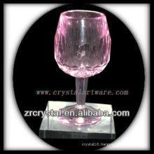 crystal wine cup P001