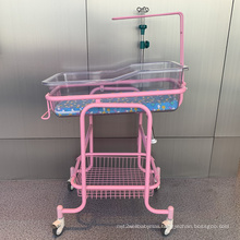 Hospital Steel Transparant Baby Crib