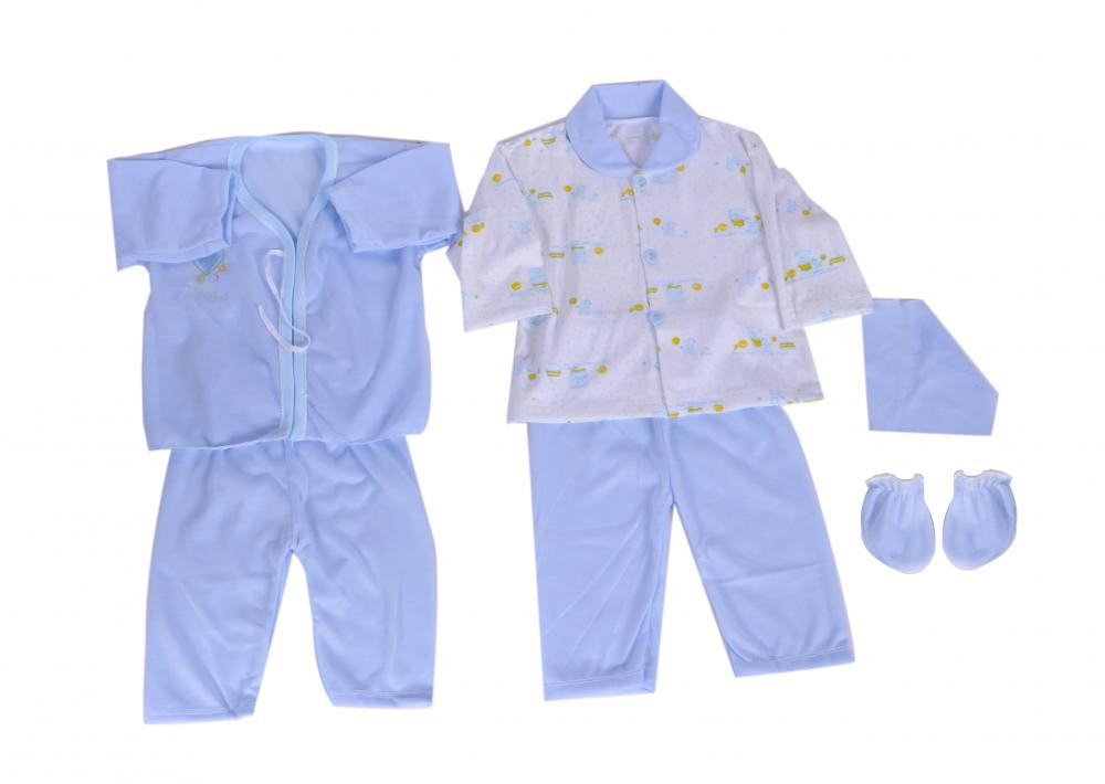 5 Pcs Economic Newborn Baby Clothes Gift Sets
