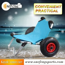 Deluxe multifunction kayak beach cart
