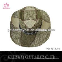 Chapeaux de cowboy en paille en gros chapeaux de paille de chapeaux chapeau de cow-boy en paille