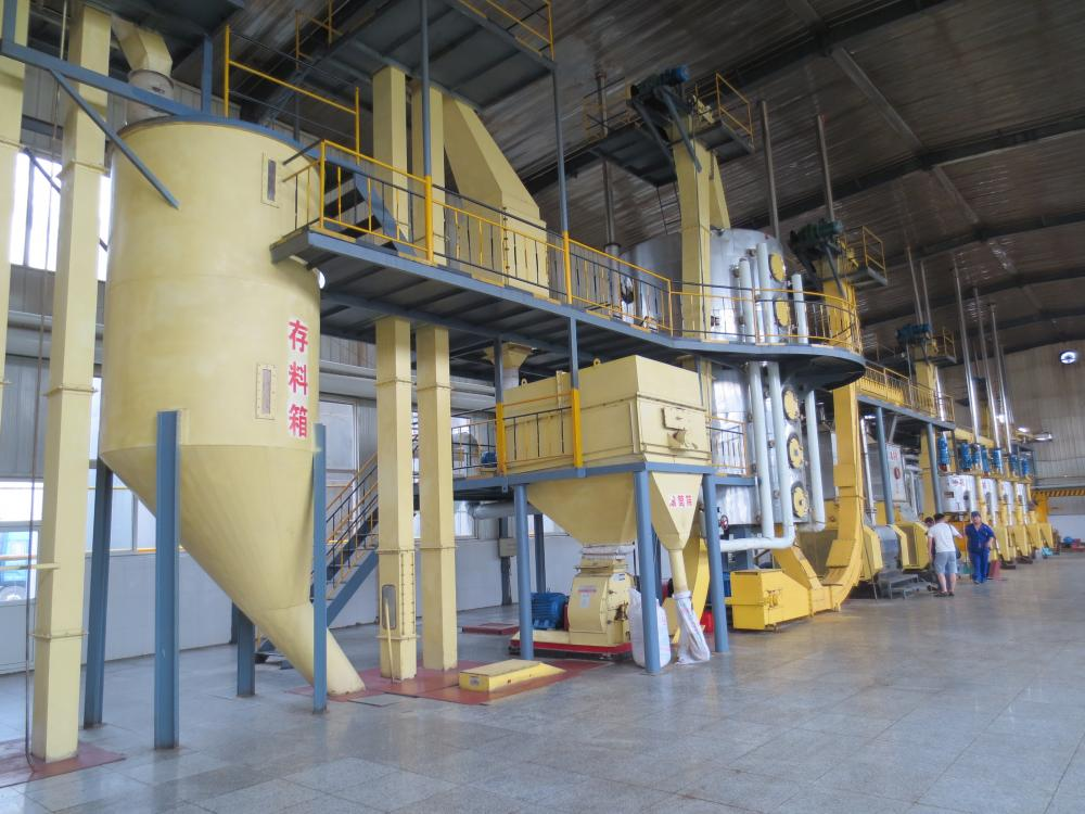 Sunflower Oil Pressing Plant