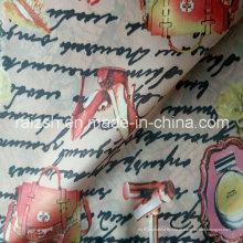 Tecido de poliéster tafetá impressão forro