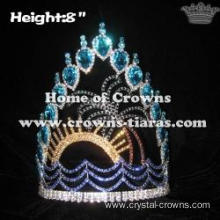 Unique Crystal Plam Tree Summer Pageant Crowns