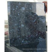 Синий жемчужный гранит для настенной и напольной плитки