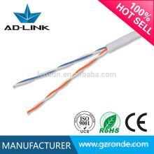 Vente chaude de bon prix cable téléphonique cat3 cable de réseau TV numérique