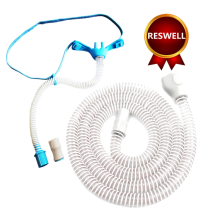 heated wire breathing circuit and hfnc nasal cannula