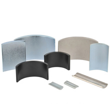 Different Size Arc Neodymium Magnets