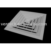 difusor de techo de 4 vías