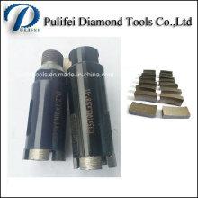 Segment concret de foret de diamant de maçonnerie de perçage pour le perçage