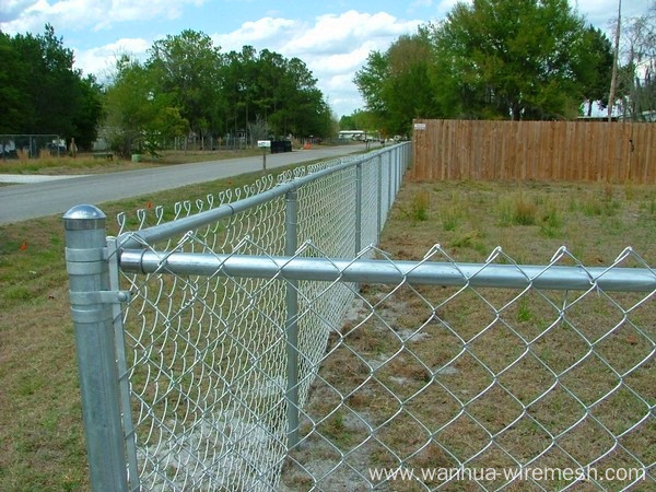 Park field Chain link fence