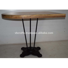 Cast Iron Industrial Style Restaurant table