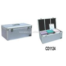 boîtier de CD aluminium gros de haute qualité 420 CD disques